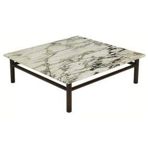 Widdicomb #1782 Marble Cocktail Table